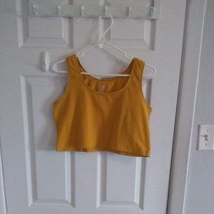 🌼3 for$20🌼  Cute yellow crop top